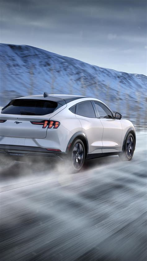 Wallpaper Ford Mustang Mach-E, SUV, 2021 cars, electric