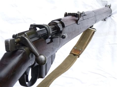 Deactivated Lee-Enfield SMLE no1 mk3 Enfield made 1918