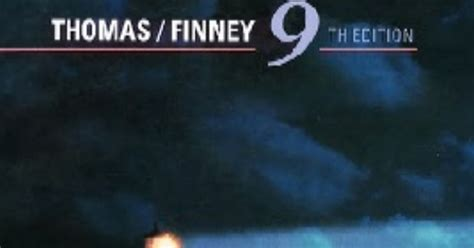 Free Ebooks for BSc: [pdf]Calculus by Thomas Finney