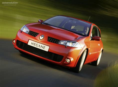 RENAULT Megane RS Coupe specs - 2004, 2005, 2006