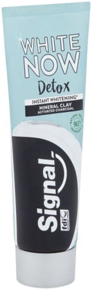 Signal White Now Detox Mineral Clay & Activated Charcoal