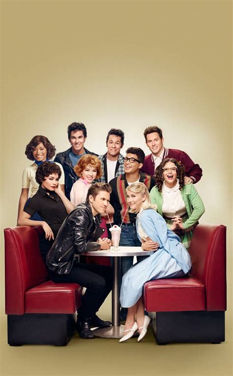 They Go Together! Grease Live Releases First Full Cast