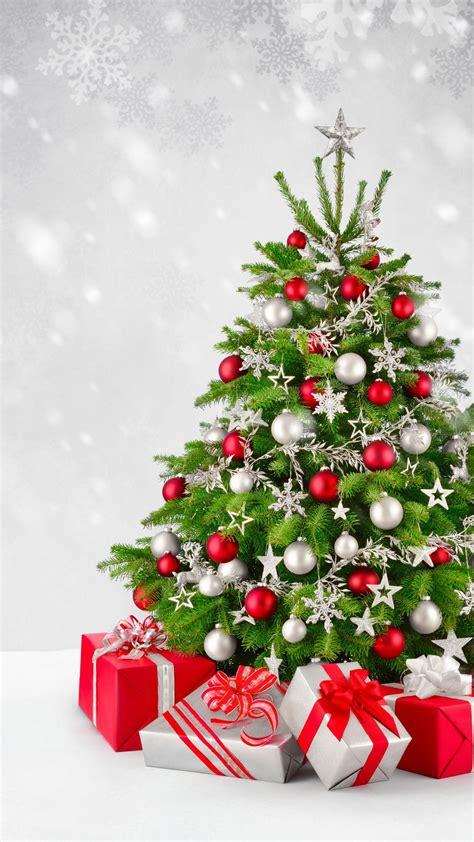Wallpaper Christmas tree, Decoration, Presents, Gifts