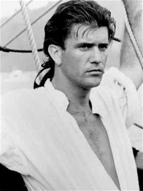 """Mel Gibson on """"The Bounty"""" from 1984 (Orion Pictures"""