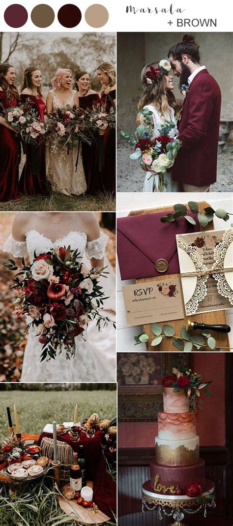 Best Fall Wedding Colors for 2021 You'll Fall In Love With
