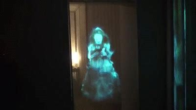 Ghostly Apparitions - Hologram Illusion In Doorway on Make