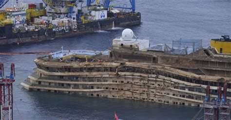 Remains of two bodies found at Costa Concordia wreck
