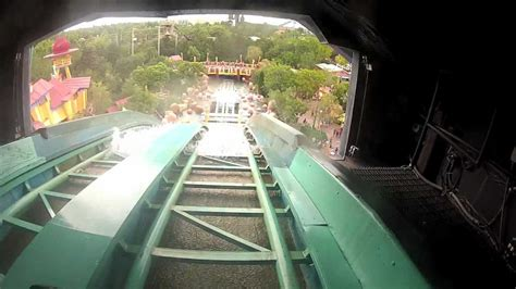 Dudley Do-Right's Ripsaw Falls (HD POV) - The Big Drop