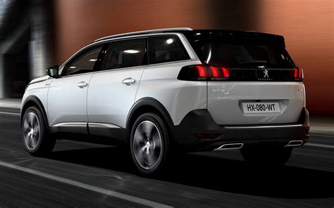 2017 Peugeot 5008 GT Line - Wallpapers and HD Images | Car