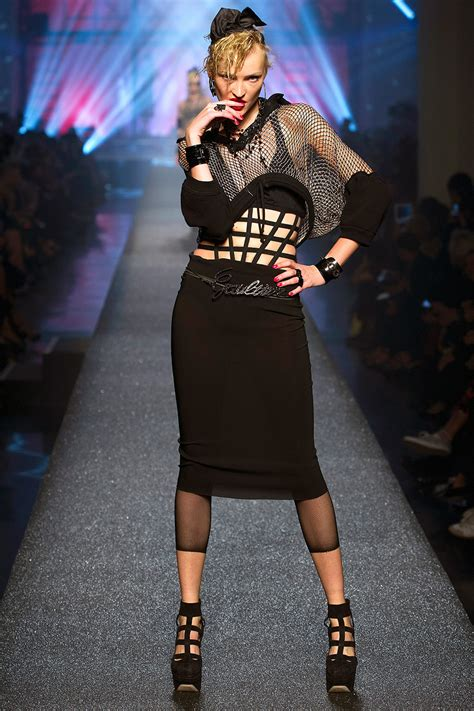 TREND: THE 80s GO BANG AT JEAN PAUL GAULTIER
