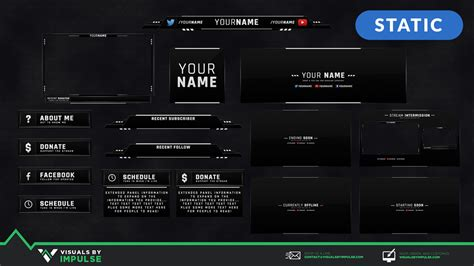 Top Twitch Templates, Overlays and Panels for 2019